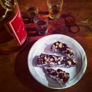 panforte with rum