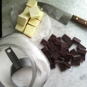 chocolate cake ingredients