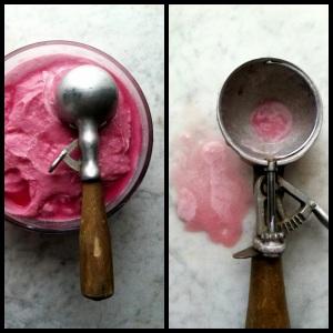 sherbet and scoop