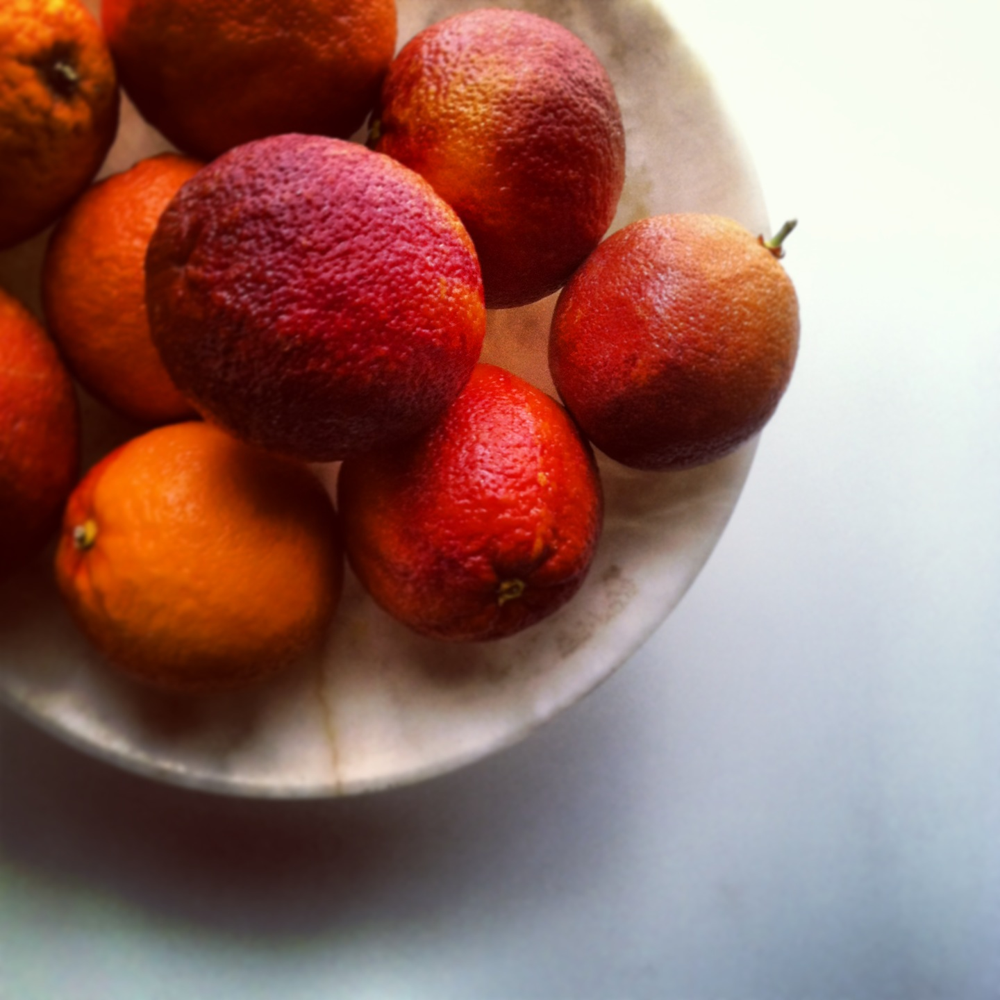 Blood orange sherbet | Catrine Kelty Food Stylist