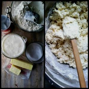 shortcake making