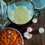 making clafoutis
