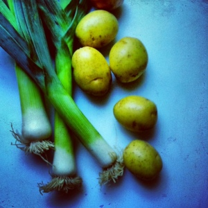 leeks and potatoes